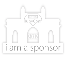 I am sponsoring RubyConf India 2012